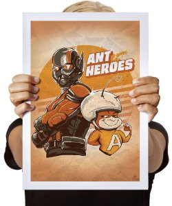 Poster Ant Heroes