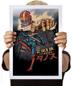 Poster Attack on Tithanos
