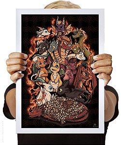 Poster Turba de Dragões