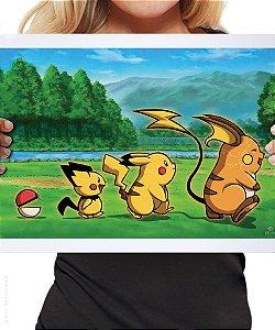 Poster Evolução Pokémon