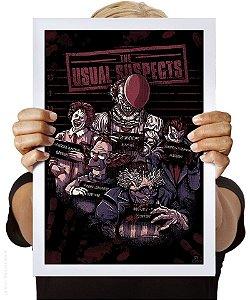 Poster Suspeitos Usuais