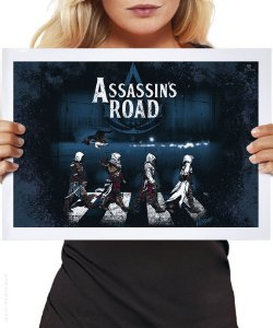 Poster Assassin's Road