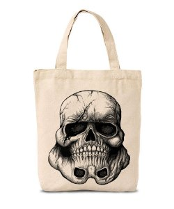 Ecobag  Skull Trooper