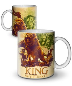 Caneca King Of The Jungle