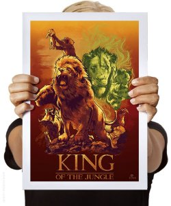 Poster King Of The Jungle