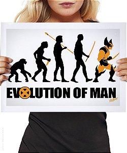 Poster Evolution of Man