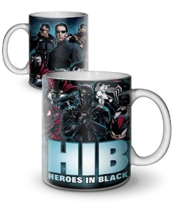 Caneca Heroes in Black