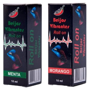 Gel do Beijo Vibrante em Roll- On 10ml Chillies