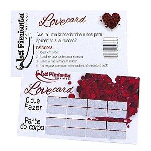Raspadinha Love Card 05 Unidades La Pimienta