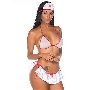 Kit Mini Fantasia Enfermeira Pimenta Sexy