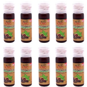 Pack 10 Géis Hot Chocomenta 15ml Soft Love