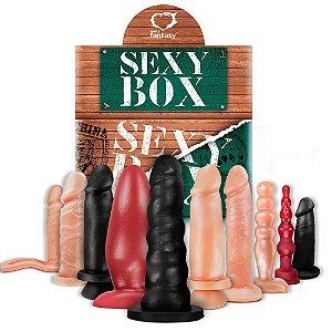 Kit Sexy Box Verde Com 10 Unidades Sexy Fantasy