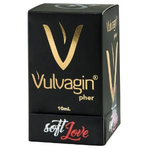 Vulvagin Perfume Feromônio 10ml Soft Love