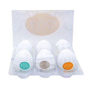 Pack 06 Unidades Egg Magical Kiss Cia Import