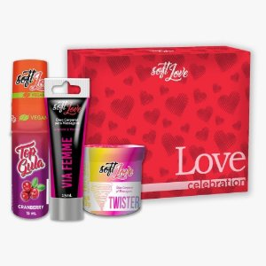 Kit Love Celebration Com 03 Itens Soft Love