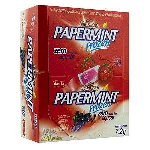 Pack 12 Unidades Lâminas Morango Danilla Foods