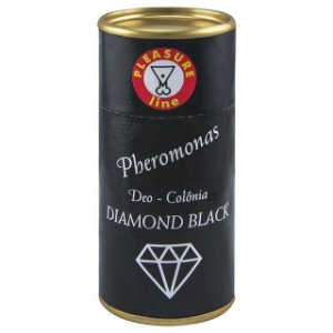 Diamond Black Deo Colônia Masculina Pheromonas 20ml Pleasure Line