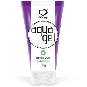 Aqua Gel Lubrificante Siliconado 60g sexy Fantasy