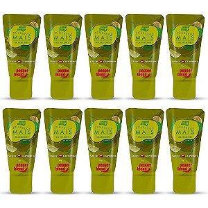 Pack 10 Caipirinha Scurrega Mais Gel Comestível 15gr Pepper Blend