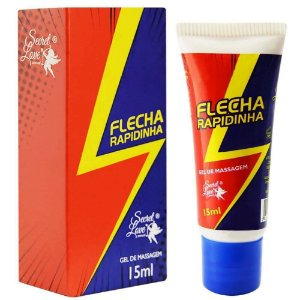 Flecha Rapidinha Gel Beijável Ice 15ml Secret Love