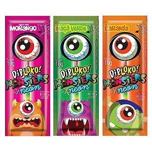 Pirulito Dip Loko Monster + Neon Unitário 10g Danilla