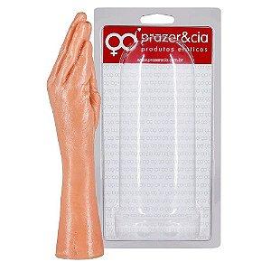 Prótese Hand Finger Formato Mão 34,5 x 7cm Prazer e Cia