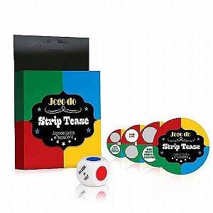 Kit Jogo Do Strip Tease Diversão Ao Cubo