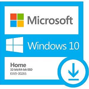 Windows 10 Home 32-bit e 64-bit (ESD)