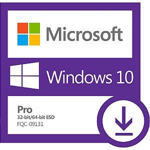 Windows 10 Pro 32-bit e 64-bit (ESD)