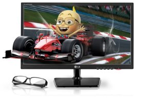 "Monitor LG 3D IPS 23"" D2343P"