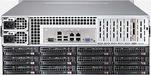 Chassi Server Supermicro 4U c/Fonte 1280W(Redundante)