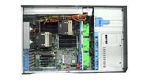 Chassi Server Supermicro 4U c/Fonte 920W(Redundante)