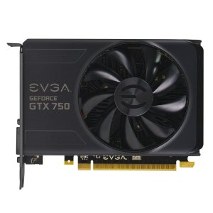 Placa de Vídeo nVidia GeForce GTX 750 1GB GDDR5 EVGA