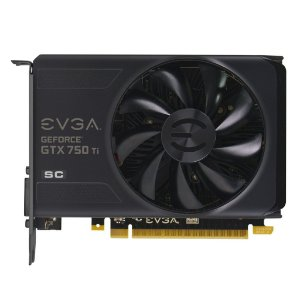 Placa de Vídeo nVidia GeForce GTX 750 Ti 2GB GDDR5 EVGA Superclocked