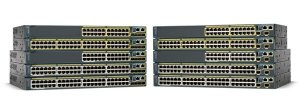 Switch 48p (10/100Mbps) + 2p Gigabit - Gerenciável - Cisco Catalyst 2960