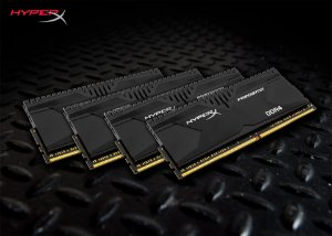 Memória 16GB (4x4GB) 2400MHZ DDR4 Kingston HyperX Predator - Preto