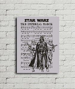 Placa Marcha Imperial Star Wars