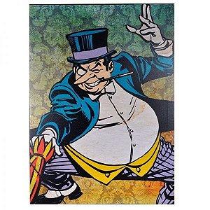 Quadro Tela Pinguim Dc Comics Oficial