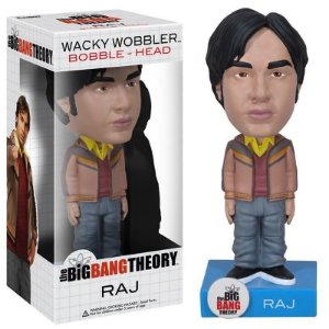 Raj The Big Bang Theory Funko Bobble Head