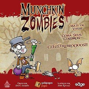 Jogo de tabuleiro Munchkin Zombies
