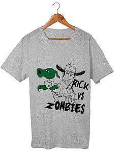 Camiseta Rick Vs Zumbi