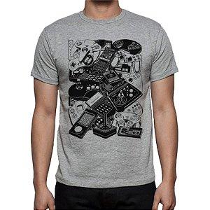 Camiseta Geek Consoles