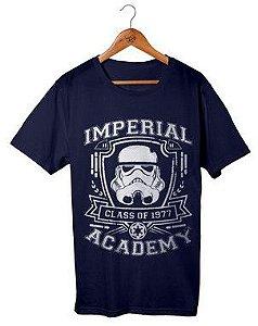 Camiseta Star Wars - Imperial Academy Azul