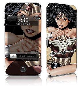 Skin para celular Mulher Maravilha Oficial