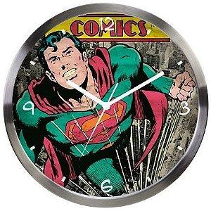 Relógio de Parede  SuperMan Oficial Dc