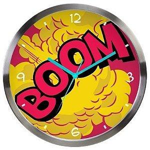Relógio de parede boom Dc Comics Oficial