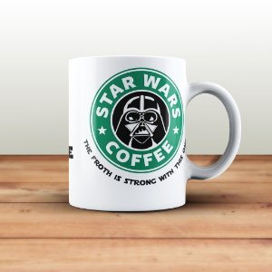 Caneca Star Wars Darth Vader Coffee
