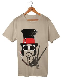 Camiseta Johnny depp Faces