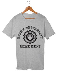 Camiseta Otaku University Game Dept