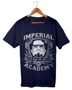 Camiseta Star Wars - Imperial Academy Preta